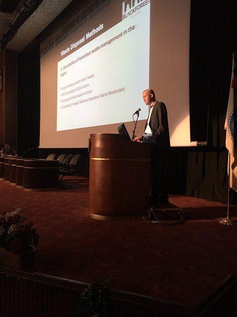 سخنرانی جناب آقای سباستین فریش در سمینار روشهای تخصصی دفع پسماند